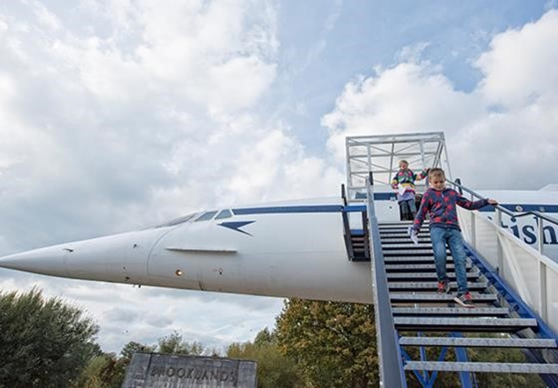 Concorde at Brooklands