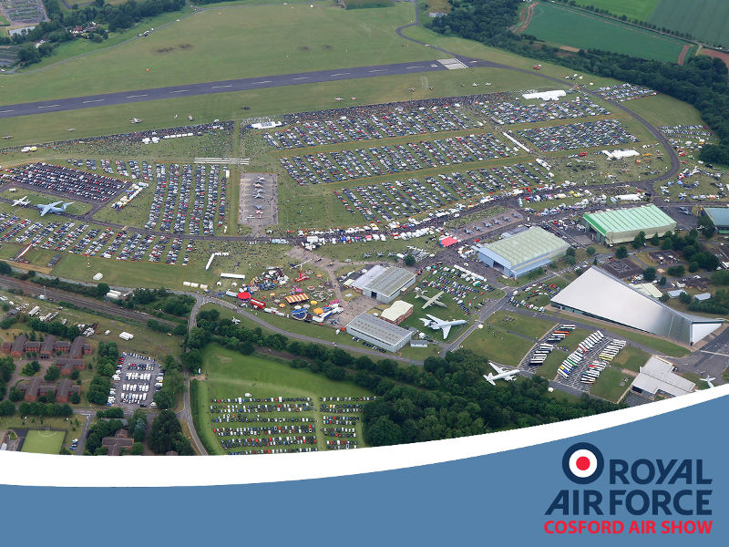 Cosford Aerial Photo