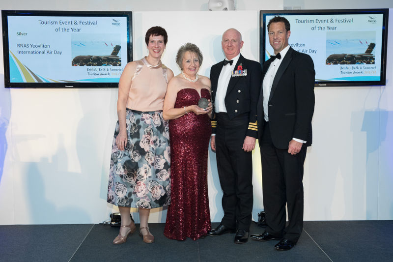 Yeovilton Air Day picks up Tourism Award