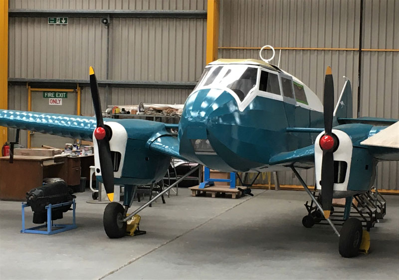 Newark Air Museum Monospar Update