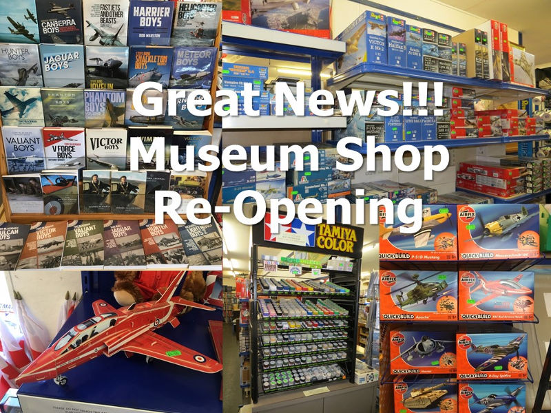 NAM Museum Shop re-opening