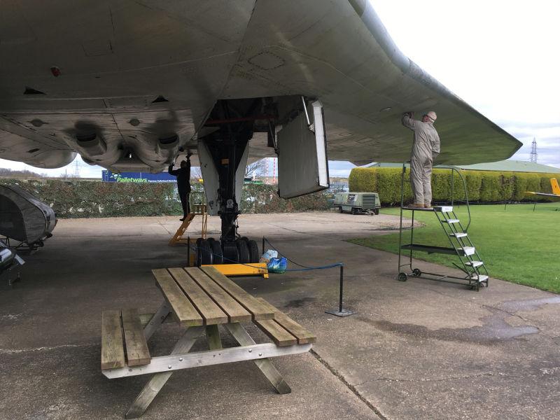Newark Vulcan restoration