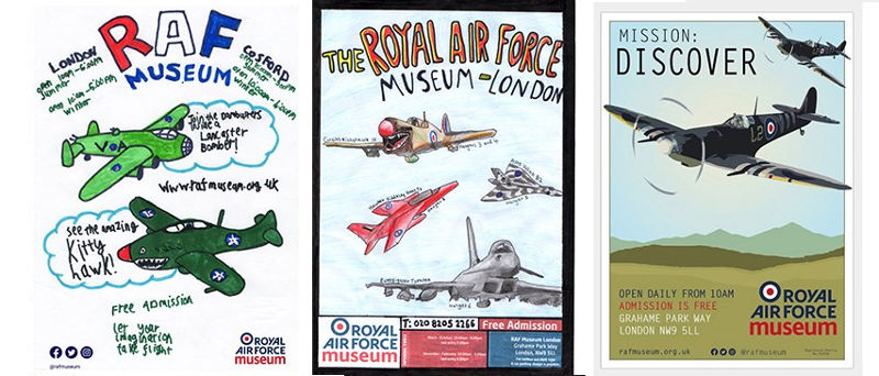RAF Museum Poster Competition Winners