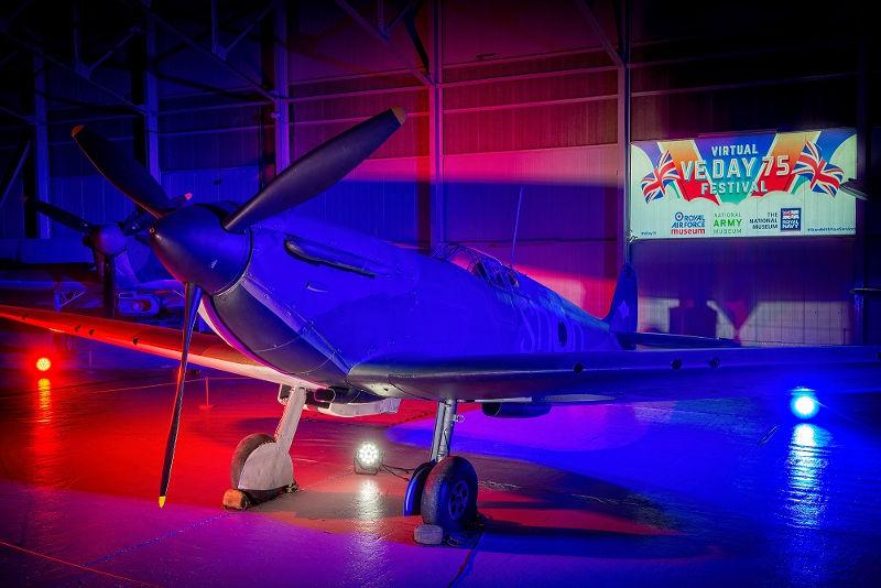 RAF Museum Spitfire VE75