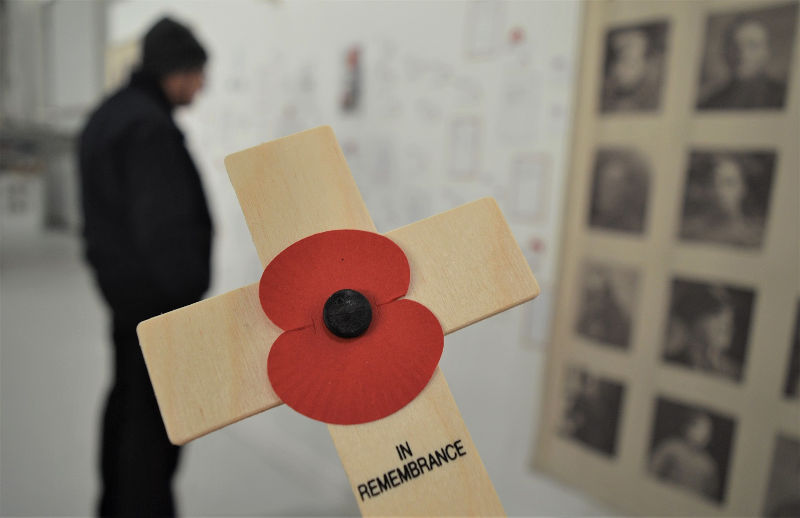 Remembrance at RAF Museum