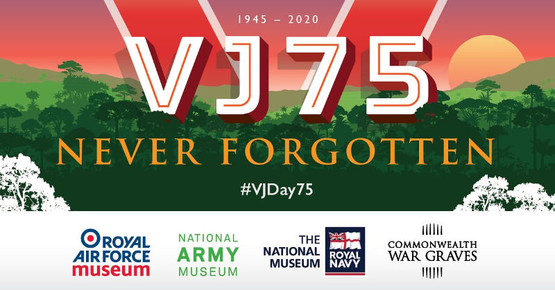 RAF Museum celebrates 75th Anniversary of VJ Day