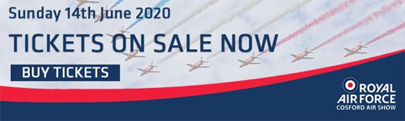 Cosford Air Show tickets now on sale