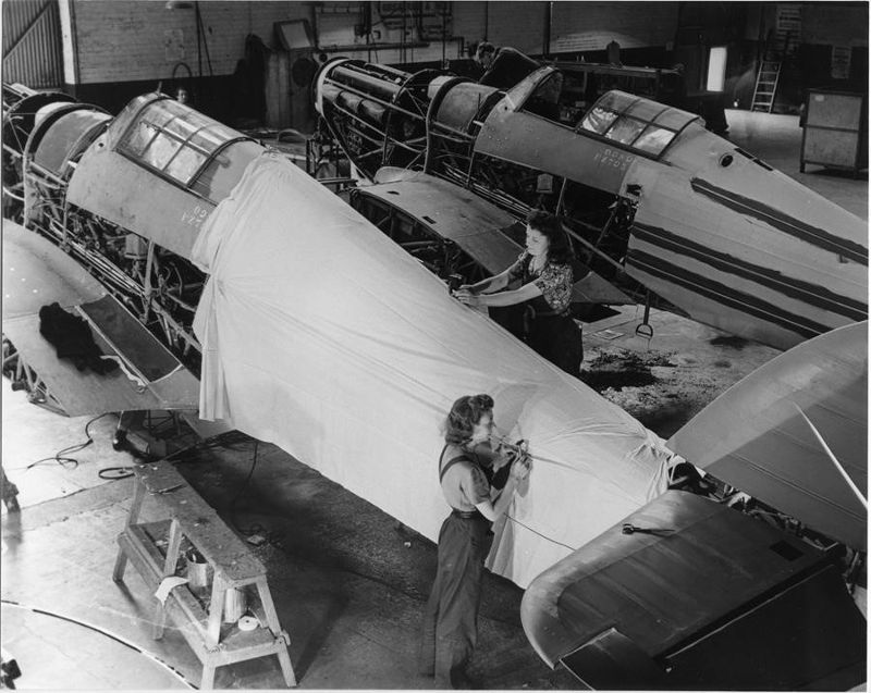 Hawker Hurricane factory