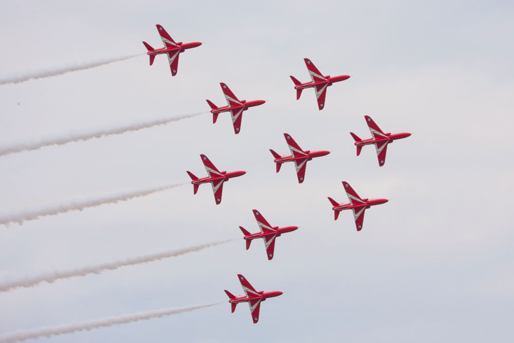 Duxford Red Arrows