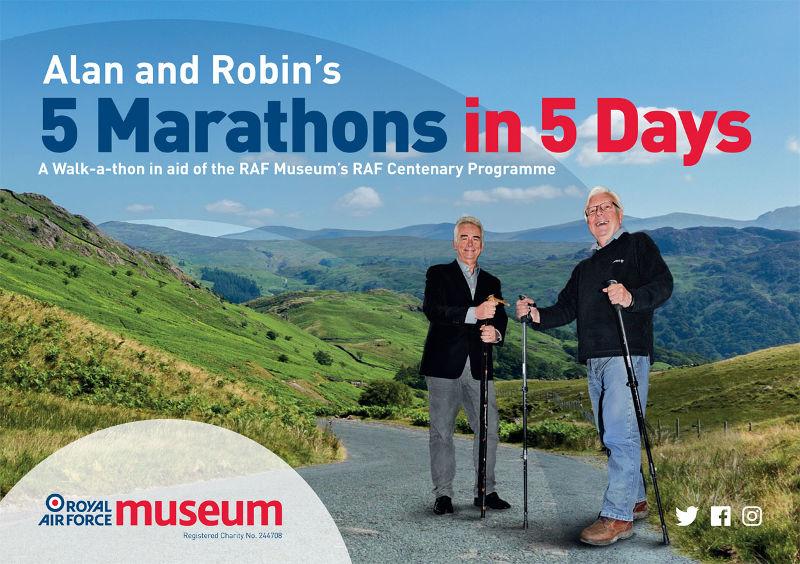Trustee's run 5 Marathons