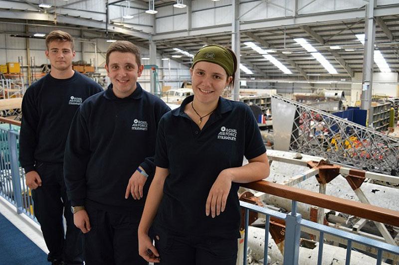 RAF Museum apprentices