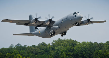 Qatar C-130J RIAT