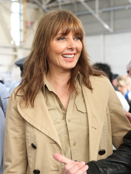 Carol Vorderman at Cosford