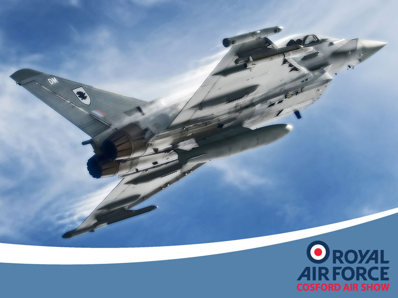 Typhoon RAF Cosford Air Show