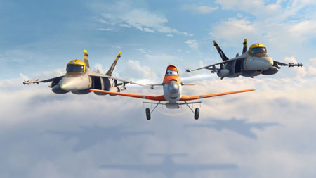 Airborne welcomes Disney Planes with the Matadors