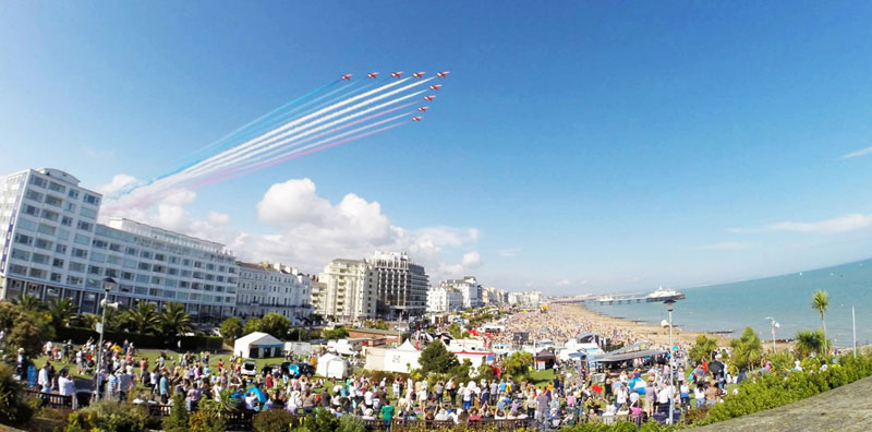 Red Arrows at Eastbourne