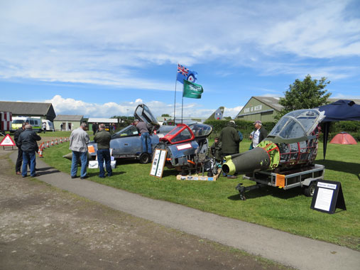 Newark Air Museum cockpit fest