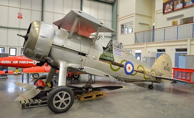 RAF Museum Cosford Gladiator