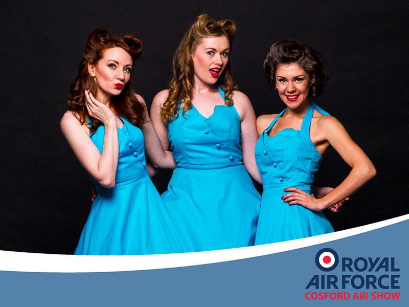 Glamaphones RAF Cosford Airshow