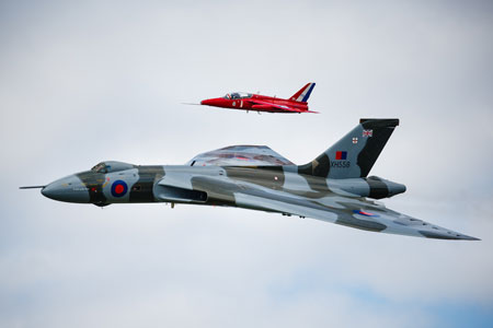 Gnat & Vulcan by Tony Hart