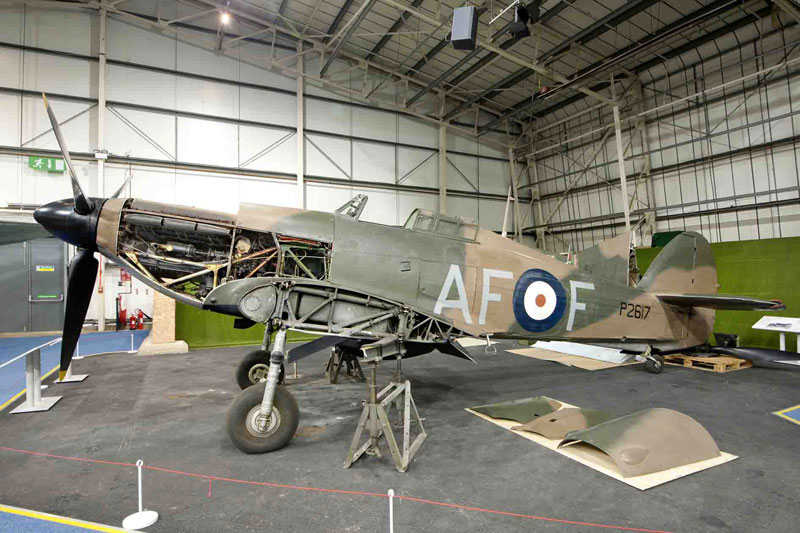 RAF Museum London Hurricane