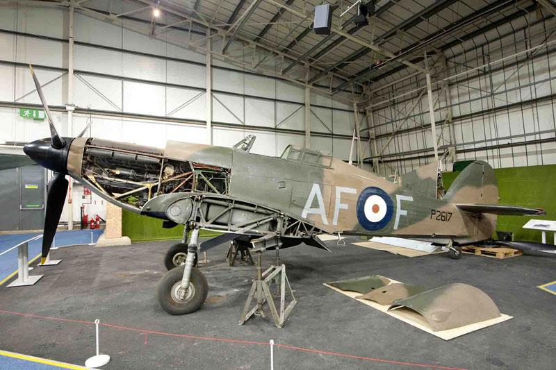RAF Museum London Hurricane