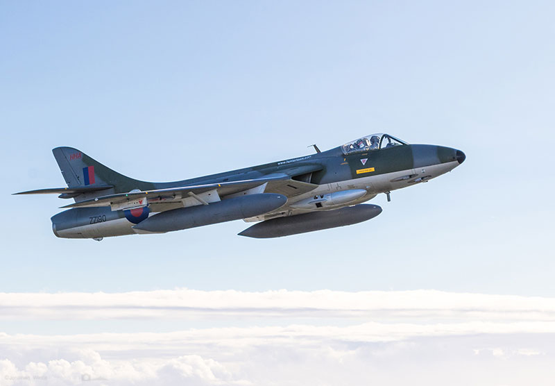 Hawker Hunter Air to Air