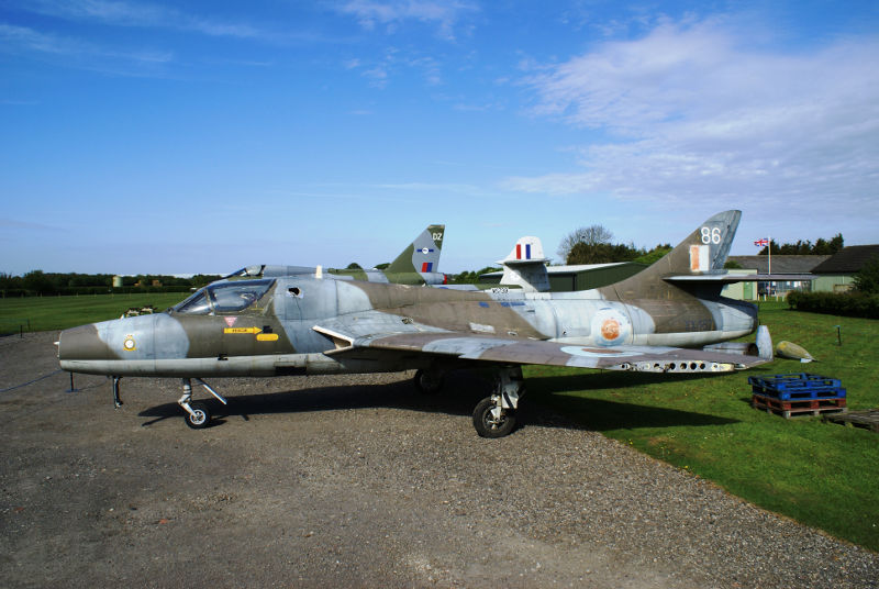 Hunter XX467 at Newark Air Museum