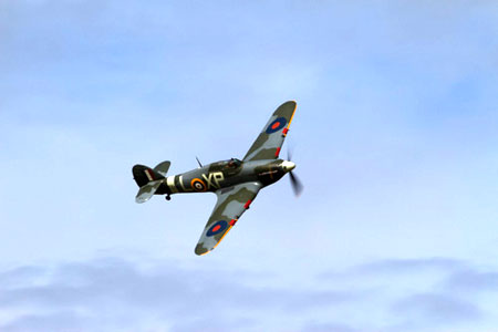 Dunsfold Wings & Wheels Hurricane