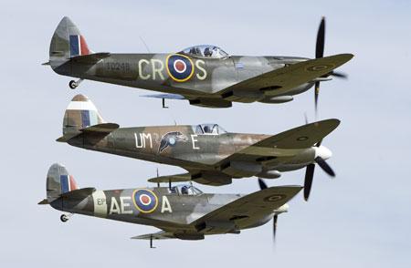 Duxford Spitfires