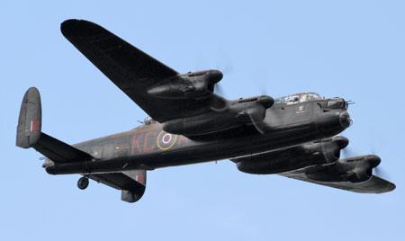 Lancaster Bomber - Airscene Awards 2014