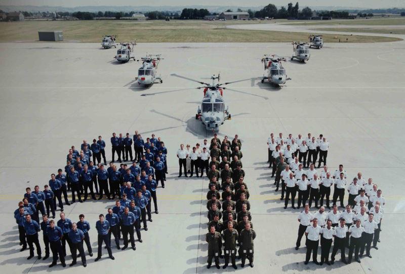 Lynx 815 squadron Fleet Air Arm Museum
