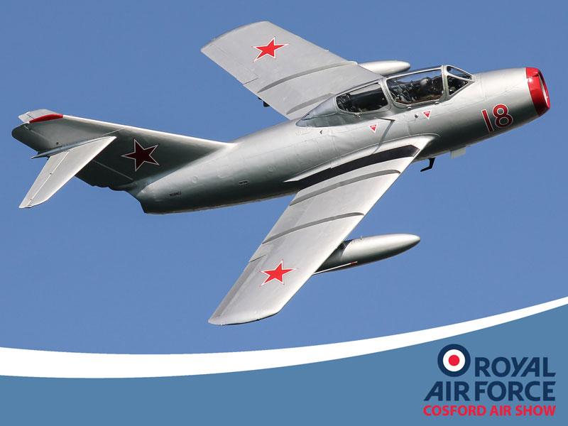 RAF Cosford MiG15