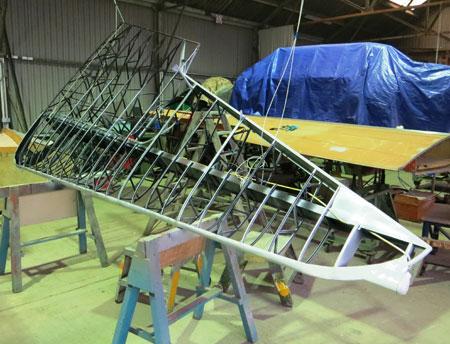 Newark Air Museum Monospar
