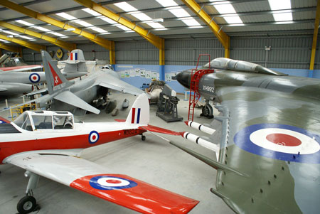 Newark Air Museum Hangar