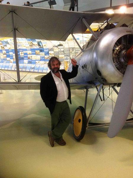 Peter Jackson at RAF museum