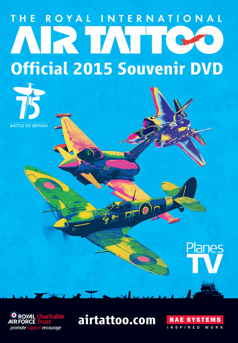 RIAT 2015 DVD cover