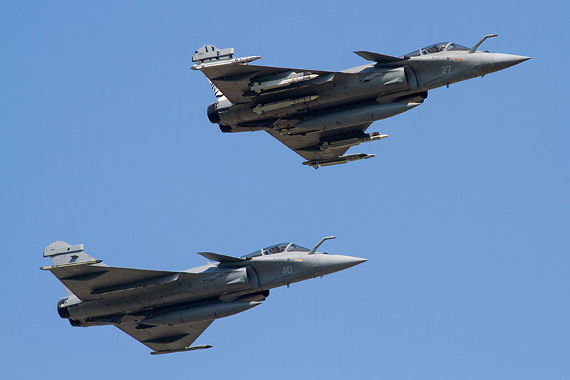 French Navy Rafale Duo Yeovilton Air Day