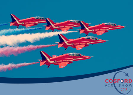 Red Arrows - Cosford Airshow - Crown Copyright