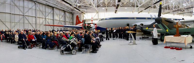RAF Cosford Remembrance Service