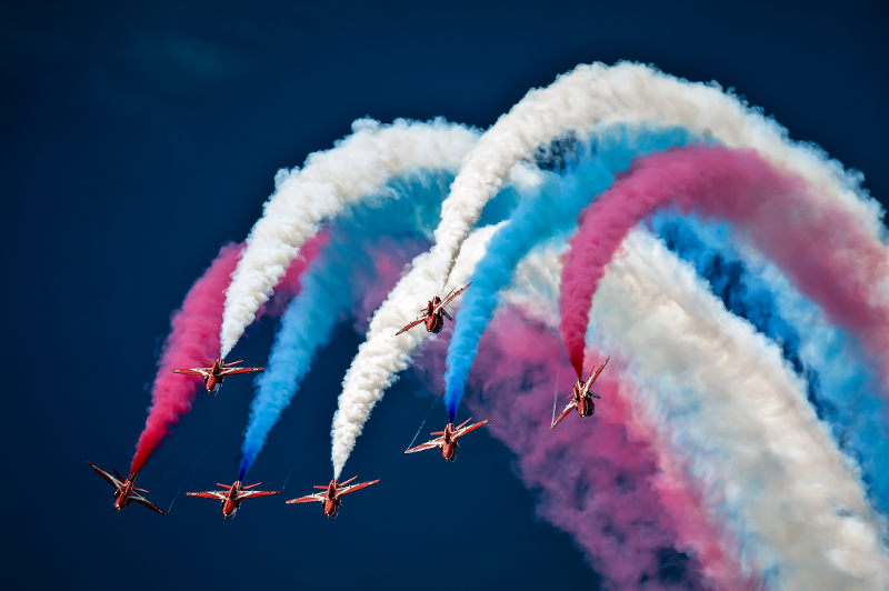 Red Arrows Scampton