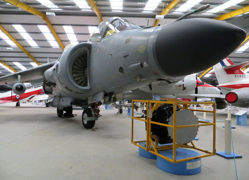 Newark Air Museum Sea Harrier