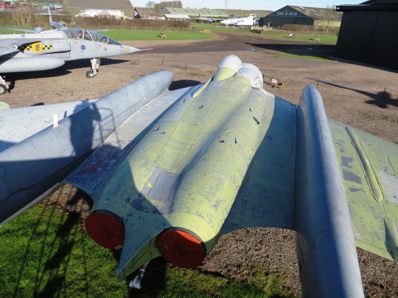 Newark Air Museum Sea Vixen repaint