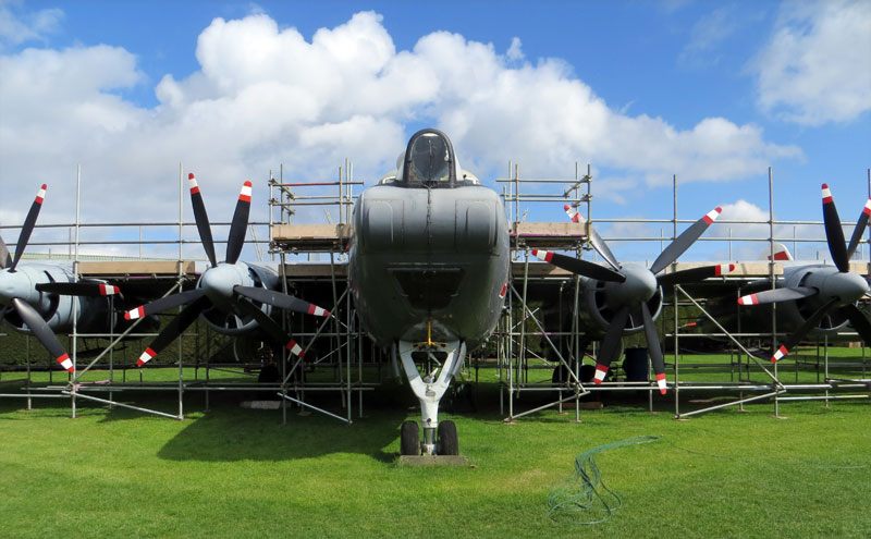 Newark Air Museum Shackleton