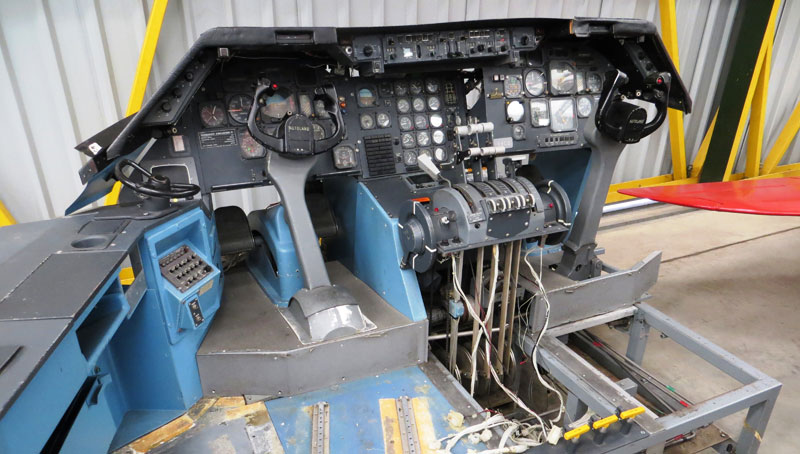 TriStar Simulator Newark Air Museum