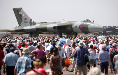 Vulcan Bomber at RNAS Yeovilton Air Day