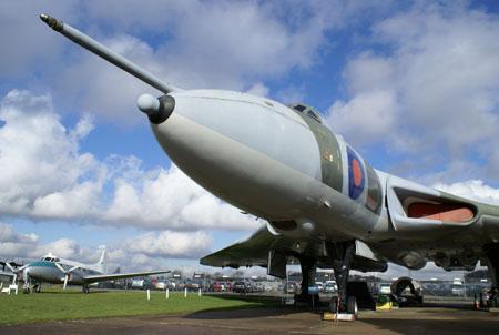 Newark Air Museum Vulcan Bomber