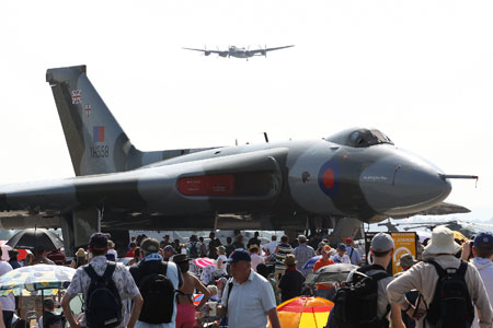 Vulcan at Yeovilton Air Day
