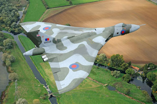 Vulcan Bomber by Mr Jamie Hunter