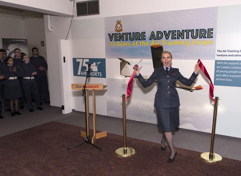 RAF Museum Carole Vorderman
